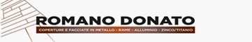 Romano Donato Srl - Metal roofing and façades. Works with copper, aluminium, titanium-zinc